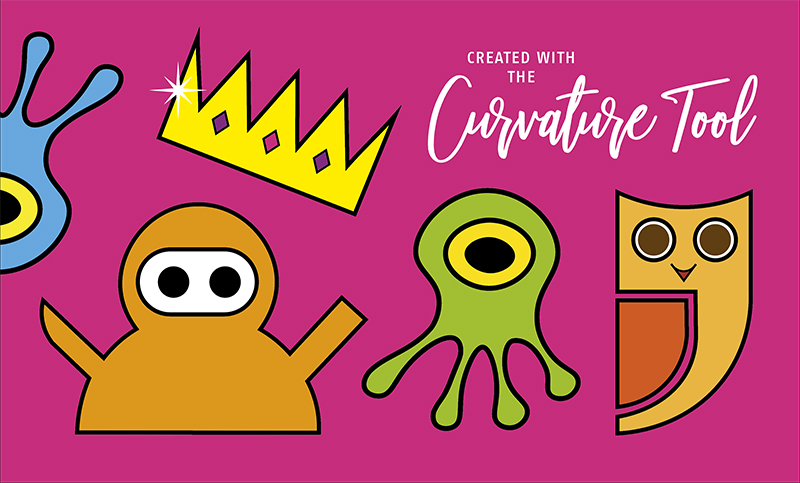 How to draw anything using the Curvature Tool in Adobe Illustrator