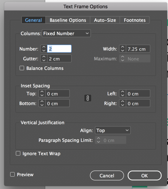 How To Make Paragraphs Span 2 Columns In Adobe InDesign CC   Bring