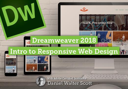 Dreamweaver CC 2018 - Introduction to responsive web design