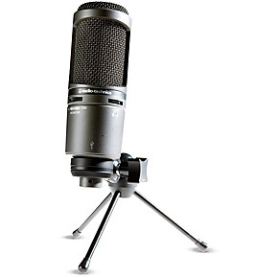 The Audio Technica AT2020USB