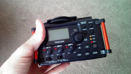 Tascam DR-60DmkII Audio Recorder